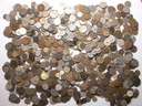 PRZEDWOJENNE monety na kilogramy MIX - zestaw 1 kg