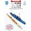 ОАО-066 - Эсминец УОРД, подводная лодка И-16 доставка товаров из Польши и Allegro на русском