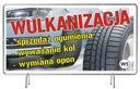 Solidny Baner reklamowy 2x1m Wulkanizacja REKLAMA Oczkowanie co 50 cm