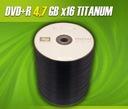 DVD+R TITANUM x 4,7GB c 100szt Piaseczno