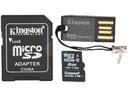 Karta Pamięci Kingston microSDHC 8GB + czytnik