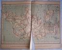 DANIA. Mapa kolejowa.