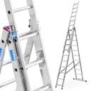 Drabina aluminiowa 3x11 KRAUSE CORDA 7,55m 010420