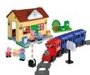 BIG Klocki Play Bloxx Peppa Dworzec Kolejowy 95e