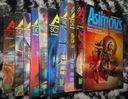 ASIMOV'S SCIENCE FICTION, komplet 10 tom. kolekcja