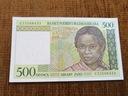 593.MADAGASKAR 500 FRANKÓW