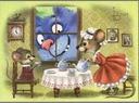 BŁĘKITNE KOTY Myszy i kot ZENIUK Białoruś