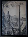 Toruń – litografia Stefana Wojciechowskiego