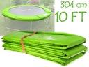 Osłona na sprężyny TRAMPOLINA 10FT zielony