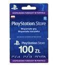 Doładowanie PlayStation Store 100 zł