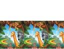 Obrus foliowy Dżungla safari 137x259 zwierzątka
