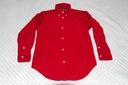 Koszula sztruksowa Ralph Lauren 7 czerwona święta