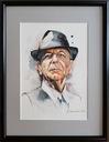 Portret na zamówienie - akwarela w ramie 31x38 cm