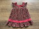 Lindex jesienna sztruksowa sukienka 3-6M_ 68 cm