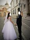 Suknia ślubna - roz. 36 BIAŁA KRAKÓW