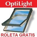 OKNO DACHOWE OPTILIGHT B 55x78 + KOŁNIERZ + ROLETA