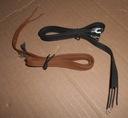 Kabel przewód 80cm konektor widełkowy M2 400szt.