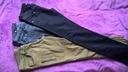spodnie jeansy, kapelusz  r.38, shorty