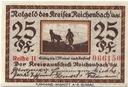 25 pfennig Reichenbach - notgeld Dzierżoniów