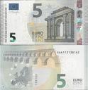 Włochy 2013 - 5 euro - Pick 20 UNC Draghi S002F6