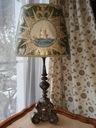 Piękna Lampa z XVIII wiecznego świecznika.