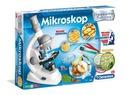 CLEMENTONI Mikroskop dla dzieci Naukowa Zabawa