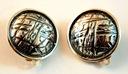 Klipsy srebrne - srebro pr 925