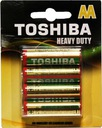 Baterie cynkowo-węglowe Toshiba R6KG BP-4TGTE SS b