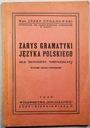 ZARYS GRAMATYKI JĘZYKA POLSKIEGO CYGANOWSKI 1946