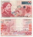 BELGIA 1996 100 FRANCS