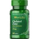 Cynk Chelatowy 25 mg (100 tabl.) Puritan's Pride +