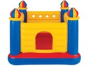 Trampolina Zamek królewski z wieżami INTEX 48259