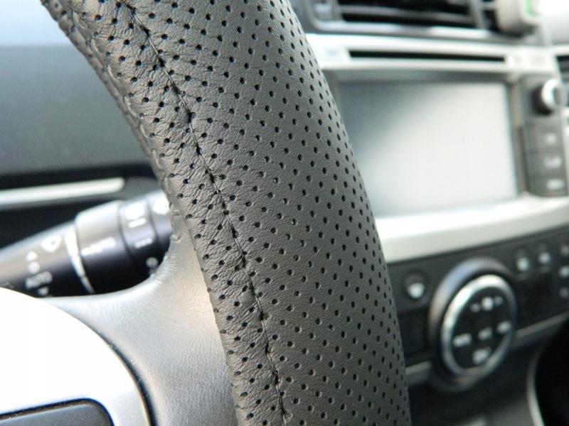 Оплётка на руль из натуральной кожи для мерседес спринтер
