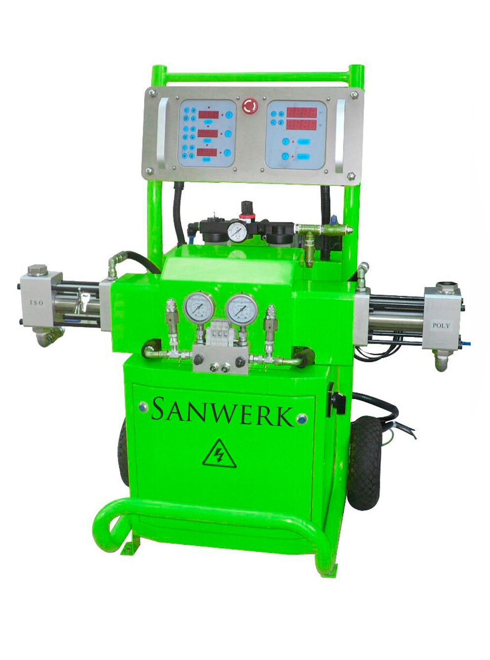 Masywnie Maszyna do natrysku pianki poliuretanowej Sanwerk 7342999777 UH92