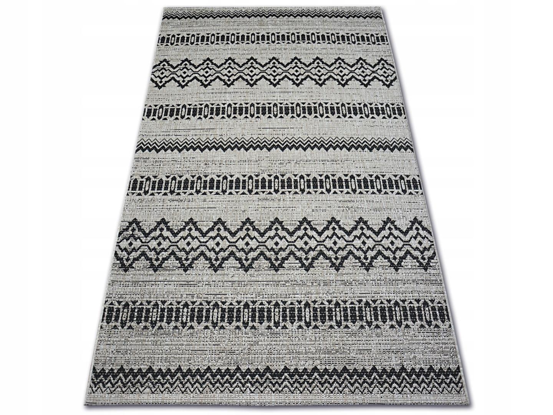 Dywany łuszczów Sznurkowy 60x110 Zygzak Dev929