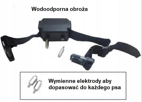Obroża Pastuch elektryczny płot treningowa W-227