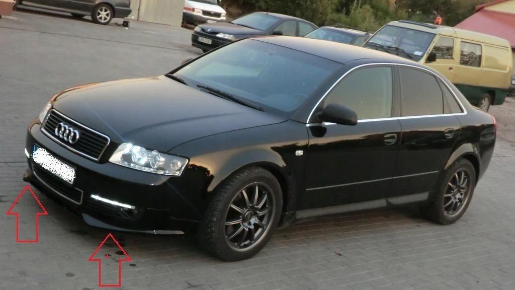авторазборка Audi A4 B6 8e мост Dokładka бампера новинка из польши