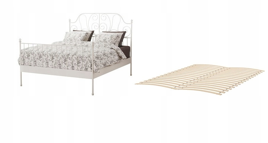 Ikea Leirvik каркас кровати 140x200 кровать Dno белый