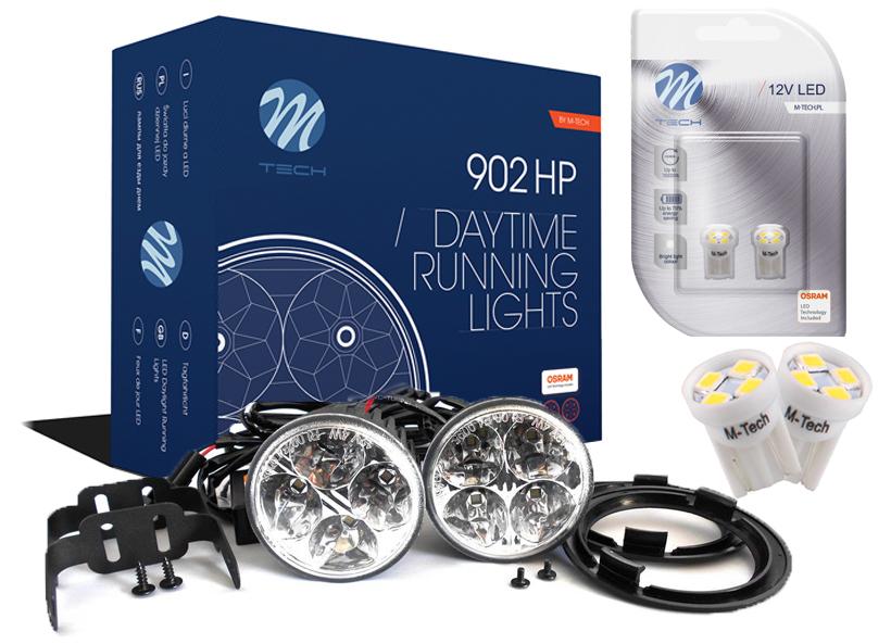 światła Dzienne Drl M Tech 902hpled W5w Gratis