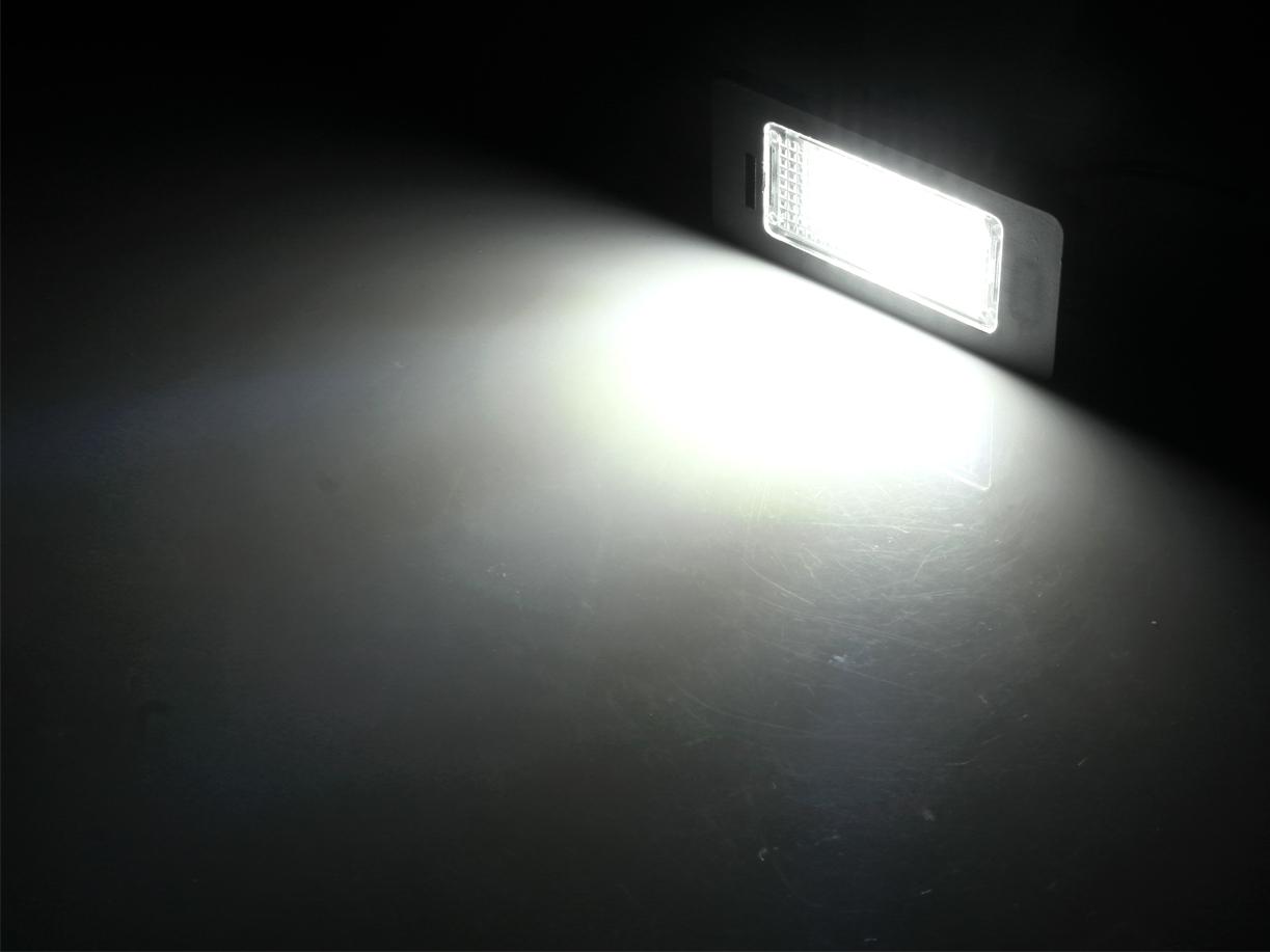 Pzd0073 Podświetlenie Tablicy Rejestracyjnej Led Volvo C30 S40 S60 S80 V50 V70 Xc60 Xc70 Xc90