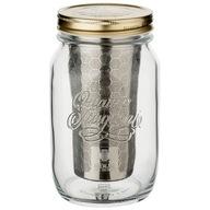 BREWJAR Cold Brew Jar - 1 l - Słoik z filtrem