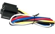 Podstawa gniazdo przekaźnika z kablami i diodą