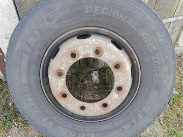 диски диск стальной 17,5 8 шпильки daf man iveco - фото