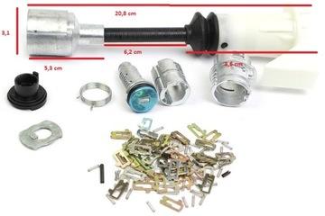 ford focus c-max 03- wkładka механизм замка капота
