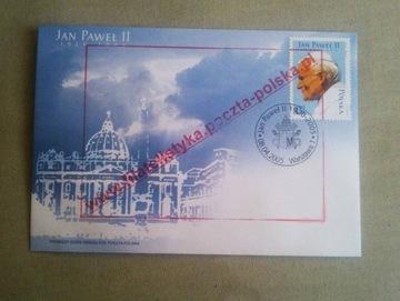 КОНВЕРТ FDC - Иоанн Павел II 1920 - 2005 - откат доставка товаров из Польши и Allegro на русском