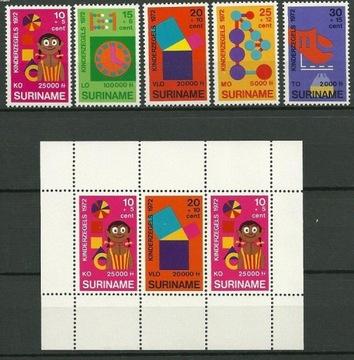 СУРИНАМ МНЕ 638-642 + блок 12 ЧИСТЫЕ доставка товаров из Польши и Allegro на русском