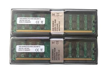 8 ГБ 800 МГЦ DDR2 ПАМЯТЬ RAM 2x4GB НОВАЯ ДЛЯ AMD доставка товаров из Польши и Allegro на русском