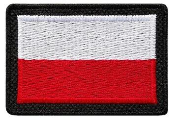 Флаг Польский 55x38 ПАТЧИ ПОЛЬША MON АРМИЯ B-CZ доставка товаров из Польши и Allegro на русском