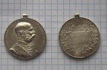 Медаль Австро-Венгрии Франц Иосиф 1848-1916 доставка товаров из Польши и Allegro на русском