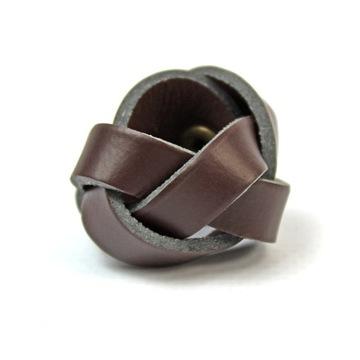 Слайдер / кольцо на платок скаутами - плетеный доставка товаров из Польши и Allegro на русском